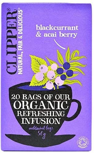 Clipper Organic Infusion Blackcurrent & Acai Berry